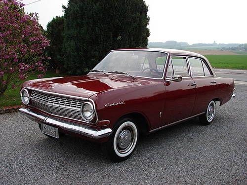 classic opal cars   Opel Rekord (1965)