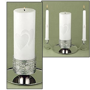 "Unity Candle 9"" (Linked at the Heart Collection)"