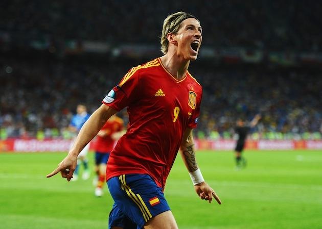 Fernando Torres Euro Cup 2012