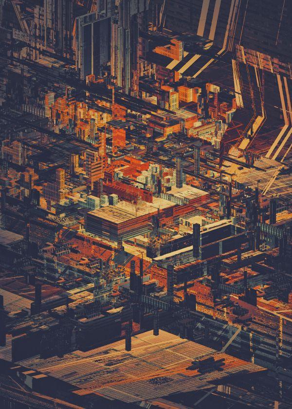 STRUCTURES V by atelier olschinsky , via Behance