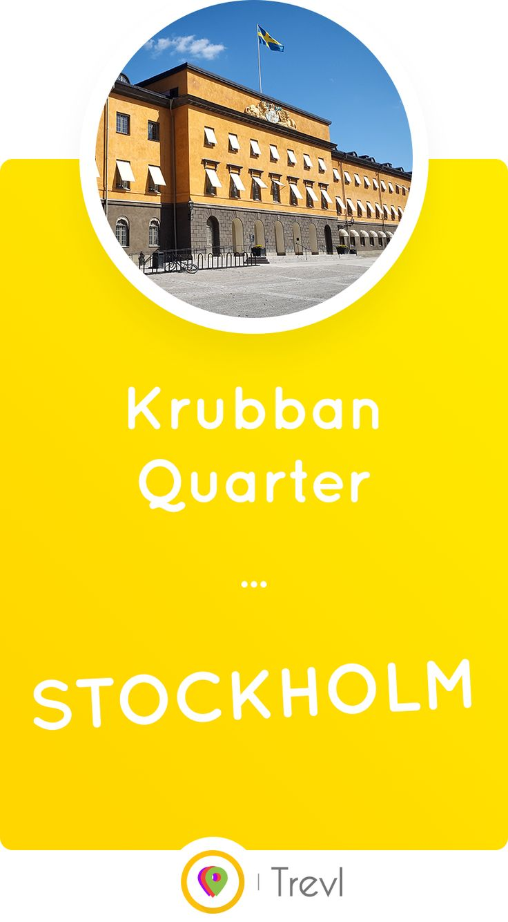 The Krubban Quarter is a former military area located in the beautiful Östermalm district of Stockholm, Sweden where you will find the Swedish History Museum among other things.