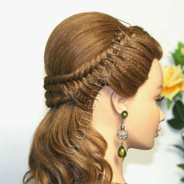 Easy Prom Hairstyles For Long Hair Bridal Hairstyle Tutorial Watch The Video Tutorial Here