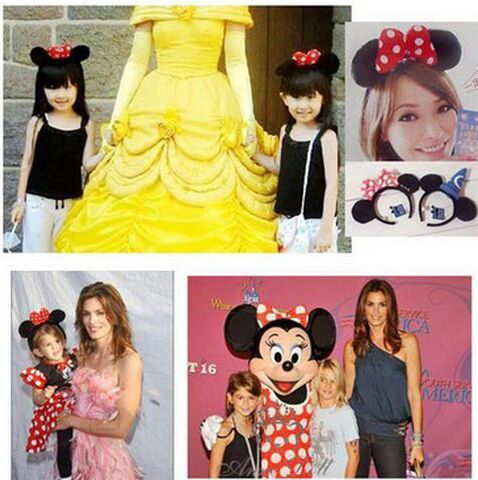 2016 Nuovi bambini Mickey fascia Carino Elsa Mouse Orecchio Capelli Band Piccolo minnie Mouse Fasce per le Donne Ciao Kitty Capelli accessori