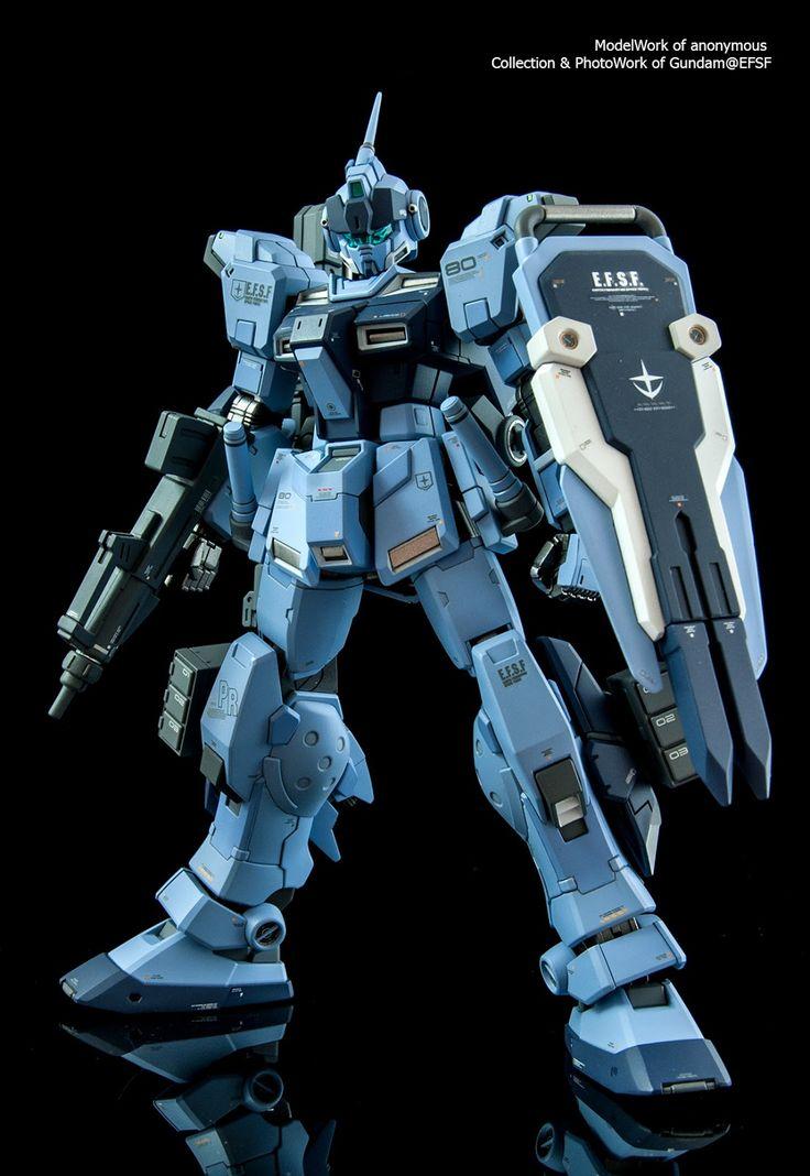 GUNDAM GUY: HGUC 1/144 Pale Rider 蒼白騎士 - Painted Build
