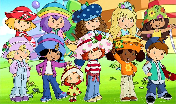 Strawberry Shortcake. I miss when the cartoon and dolls looked like this :'(
