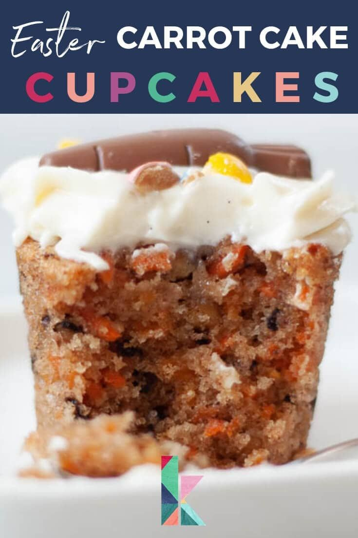 Easter Carrot Cupcakes With Cream Cheese Frosting Recipe Easy