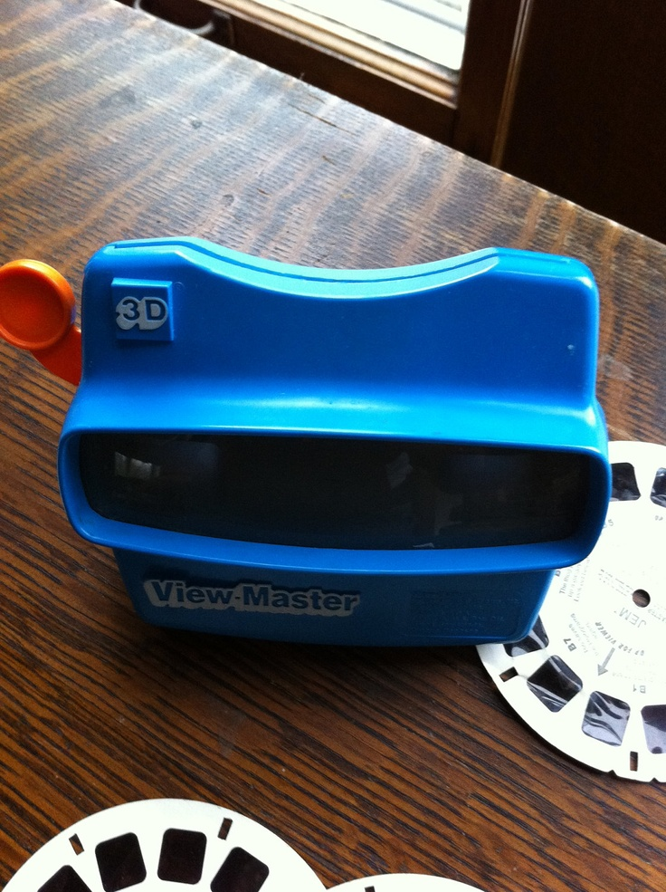 Vintage 80s View Master in 3D with 4 Reels Great Retro Toy View Master Alf Jem and Misc reels Vintage Holiday Gift