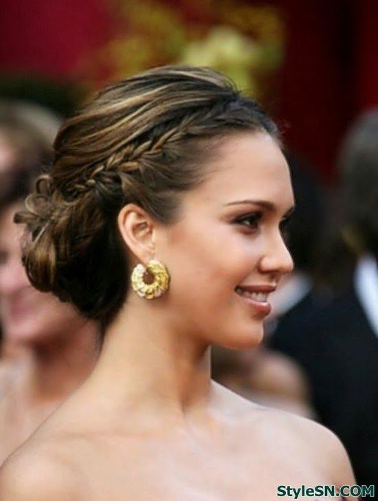 Pleasant 1000 Images About Formal 2014 On Pinterest Mila Kunis Updo And Short Hairstyles For Black Women Fulllsitofus