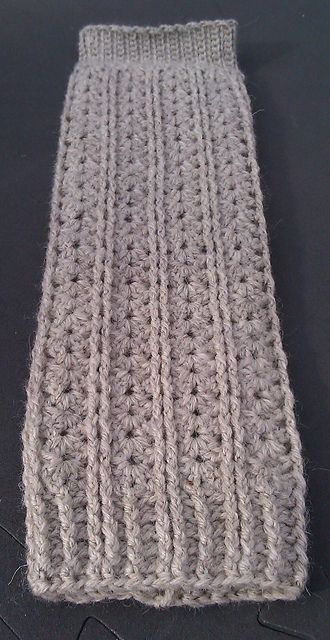 Ravelry: Shells & Cords Leg Warmers pattern by Chaann Créations