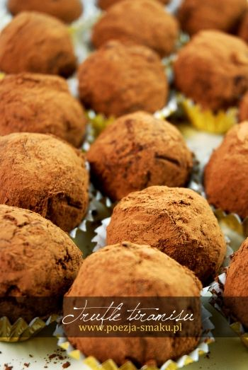 Trufle o smaku tiramisu / Tiramisu Truffles with Mascarpone (recipe in Polish)
