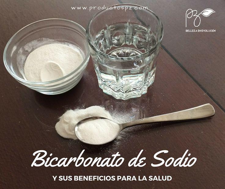 Beneficios de tomar agua con bicarbonato de sodio