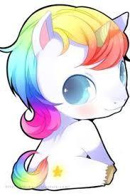 Resultado de imagem para desenhos para colorir de unicornios fofos