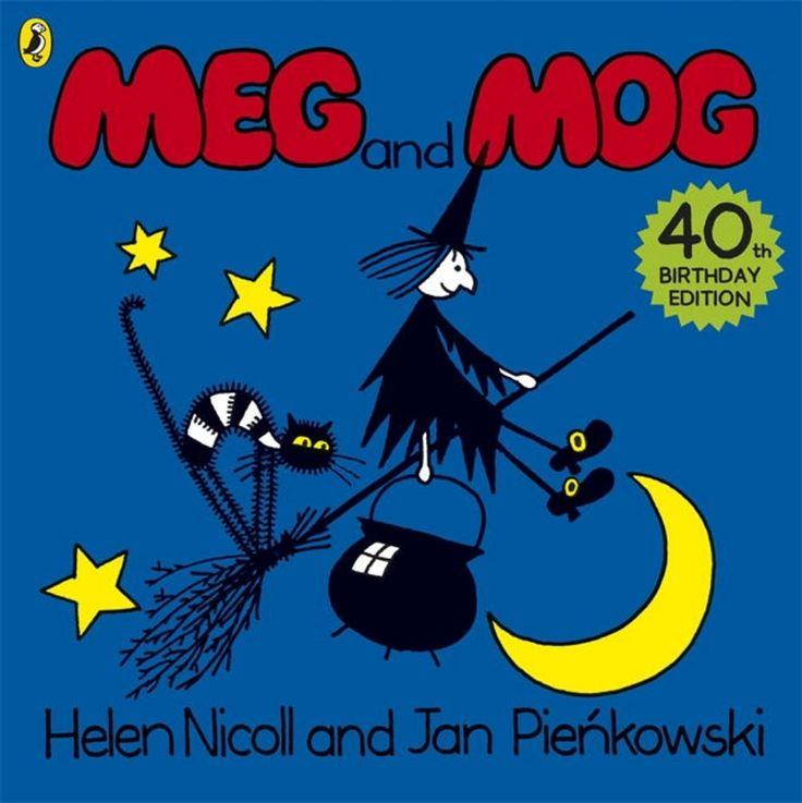 'Meg and Mog' by Helen Nicoll and Jan Pienkowski.