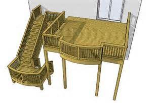 24 best high elevation decks images on pinterest cover for High elevation deck plans