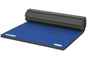 "Amazon.com : IncStores Cheer Mats 4' x 6' x 2"" Portable Carpet Top Roll Out Foam Mats (Blue) : Sports & Outdoors"