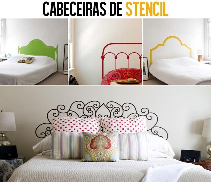 Mistureba Chic : DIY - cabeceira de cama pintada na parede