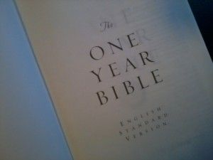 One Year Bible | Join us in reading the Bible together in 2013 @WivesofFaith