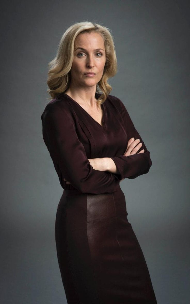 Gillian Anderson as Stella Gibson in The Fall