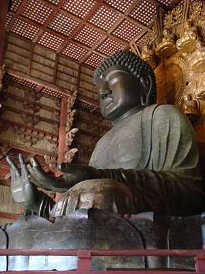 Todai-ji Temple. Great Buddha Statue. Since745 / 東大寺 盧舎那仏像 ( Rushana Butsu-zo )
