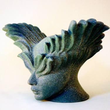 "Saatchi Art Artist Petek Acaroglu; Sculpture, ""Flying man"" #art"