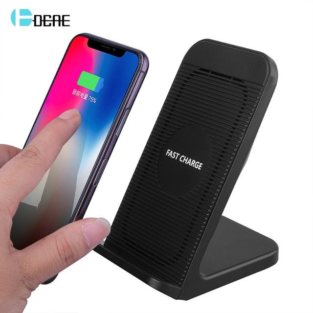 Dcae 10w Qi Wireless Charger For Iphone Xs Max Xr X 8 Fast Wireless Charging Dock Station For Samsung S9 S8 Plus Xiaomi Huawei Review Iphone Dock Iphone Apple Watch Iphone