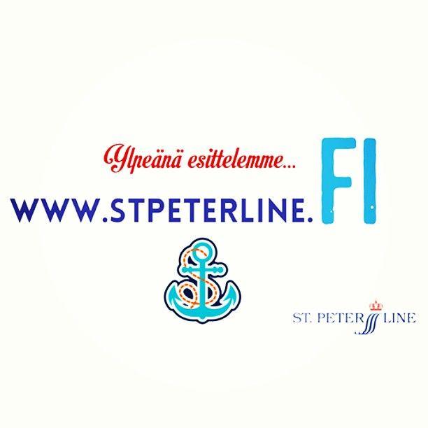 Uudet nettisivumme ovat nyt auki! Katso video Facebookissa ja surffaa osoitteeseen www.stpeterline.fi. Voit voittaa risteilyn! #arvonta #risteily #loma #kesäkisa #jee! #ankkuri #meri #www #nettisivut #suomi #kesäloma #pitkäviikonloppu #voittokotiin