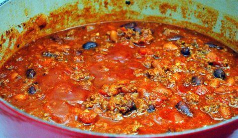 Pioneer woman chili recipe