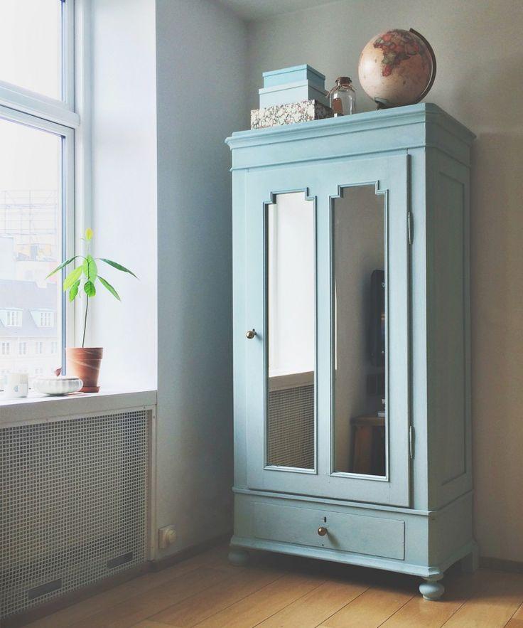 DIY old cabinet / chalk paint / kalkmaling / karlekammerskab / sonoma seven