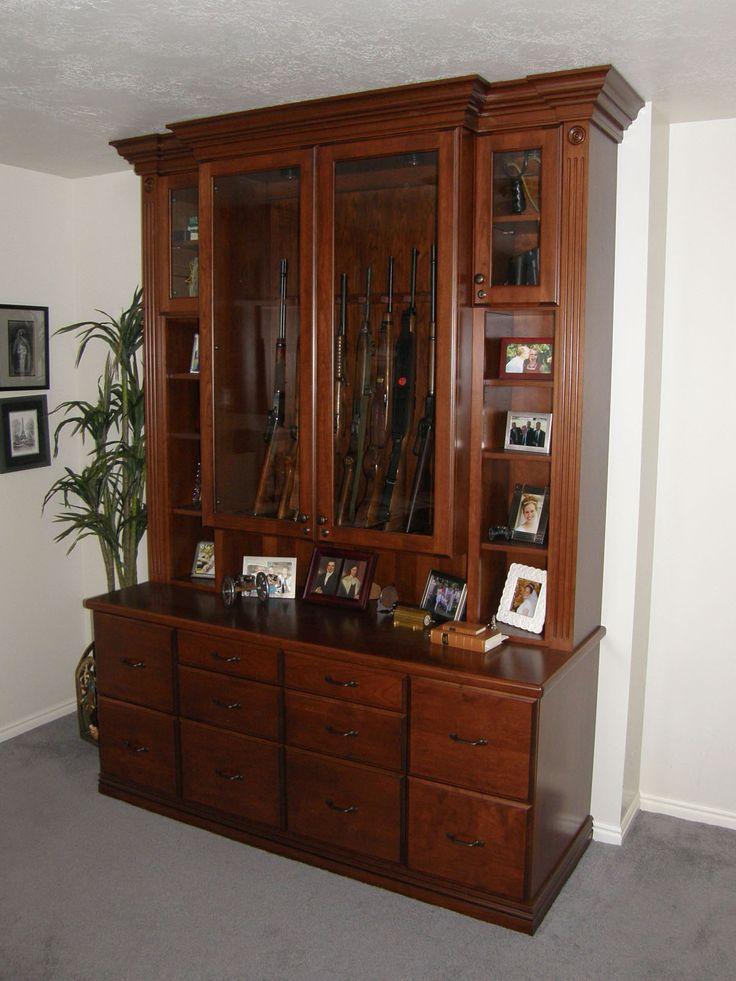 Gun cabinet kits