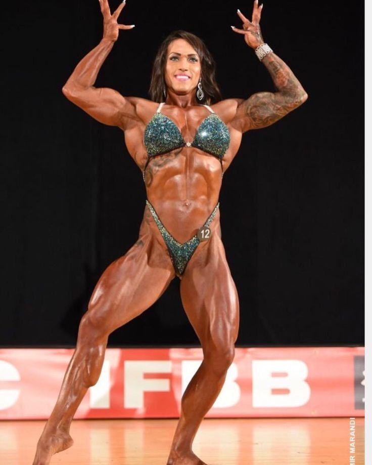 Justine Albert Body Building Women Hometown Show Gym Girls