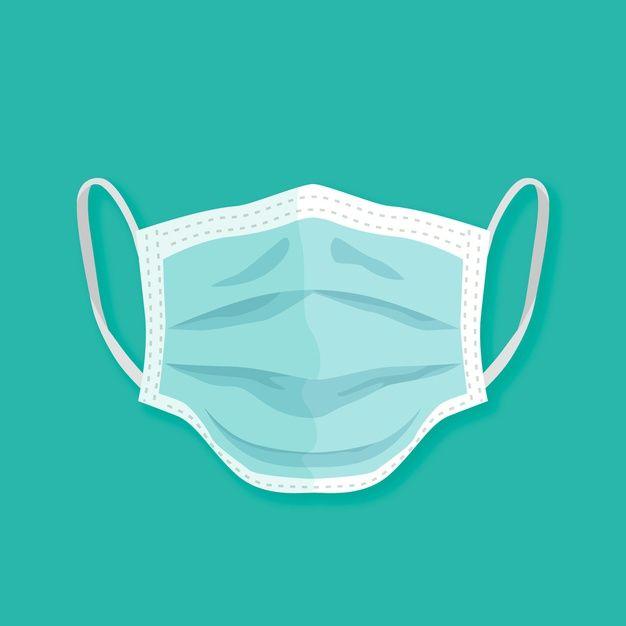 Download Flat Design Medical Mask Style For Free In 2020 Medical Masks Vector Free Flat Design
