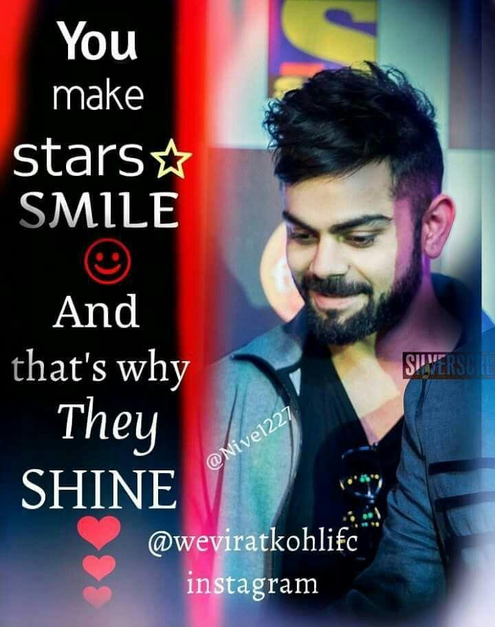 U will automatically smile when u see him..