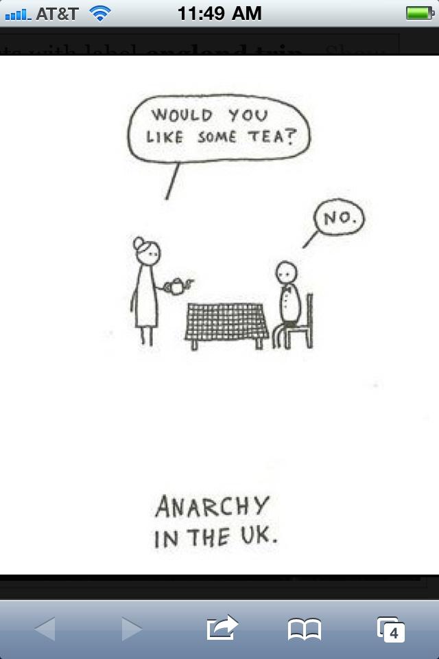 A little bit of humor: Brit Stuff, Funny Stuff