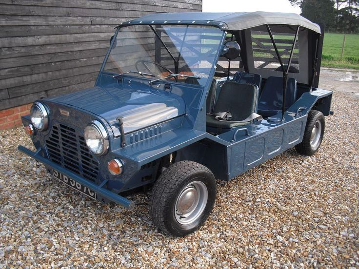 1965 MORRIS MINI MOKE MANUAL | eBay