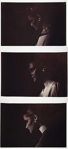 RICHARD PRINCE Untitled (Three women with earrings), 1980 3 Ektacolor photographs 20 x 24 inches each (50.8 x 61 cm)