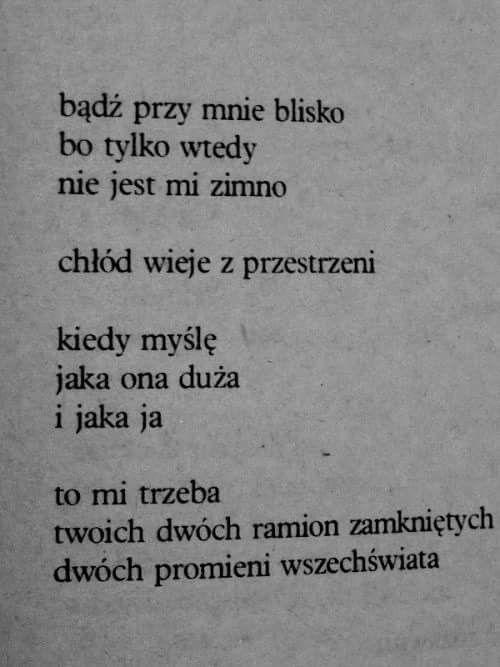 Halina Poświatowska wiersze