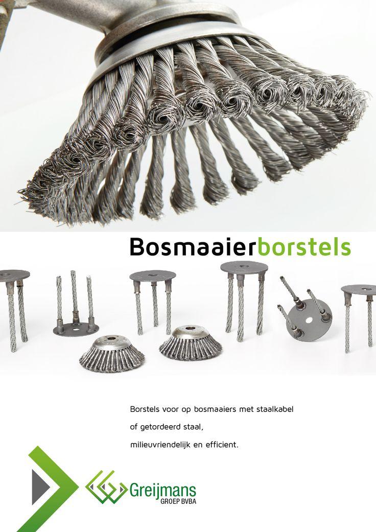 Bosmaaierborstels Greijmans groep leaflet