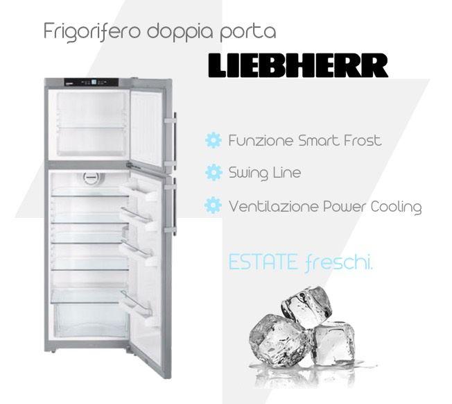 CTPESF3316 #Frigorifero Doppia porta LIEBHERR 630 mm x 600 mm x 1761 mm, capacità 320 Lt, classe energetica A++, garanzia italiana. http://www.qbric.it/conservazione/frigoriferi/ctpesf3316.html #elettrodomestici #surgelare #efficienza #cucina #sconto