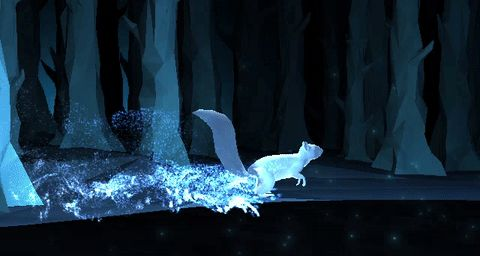 Red Squirrel Pottermore Patronus