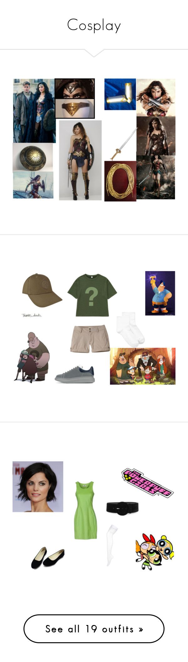 """Cosplay"" by topazwarrior ❤ liked on Polyvore featuring Disney, Uniqlo, Hue, Alexander McQueen, STONE ISLAND, Moschino Cheap & Chic, Miu Miu, La Perla, Nordstrom and T.U.K."