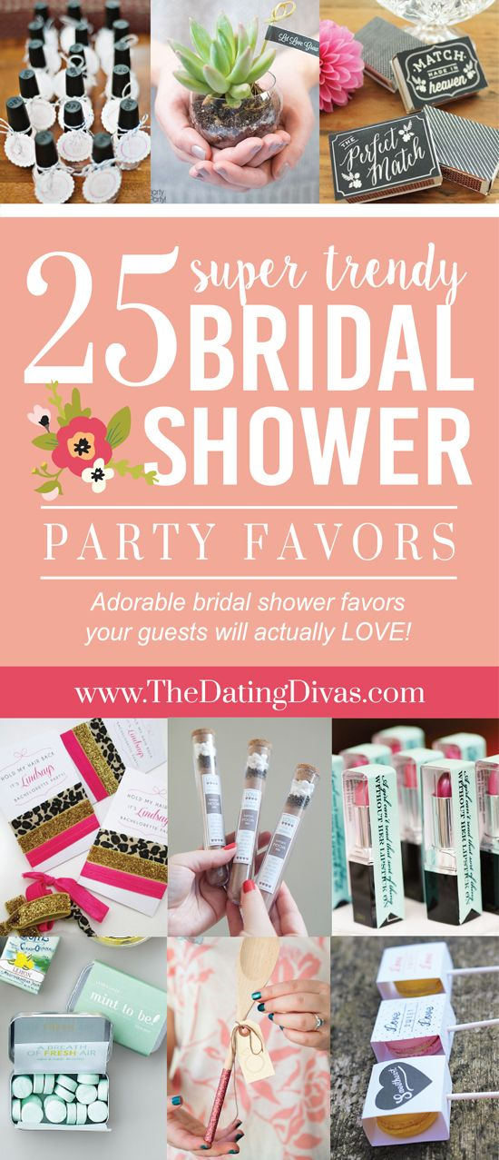 25 Bridal Shower Favors Your Guests Will Love