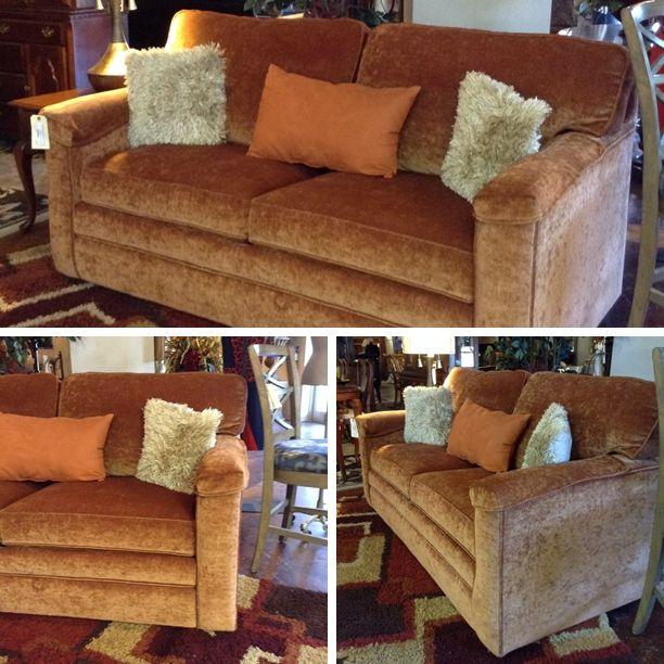 Bassett Furniture San Antonio Tx: Peach Color Sleeper Sofa W/ Air Mattress