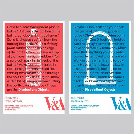 Disobedient Objects posters