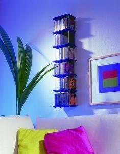 Mit einem Wandregal sieht deine CD-Sammlung gleich aufgeräumter aus. Bei uns findest du dir detallierte Bauanleitung zum selber machen.