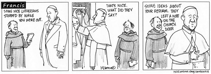 Francis the comic strip | National Catholic Reporter