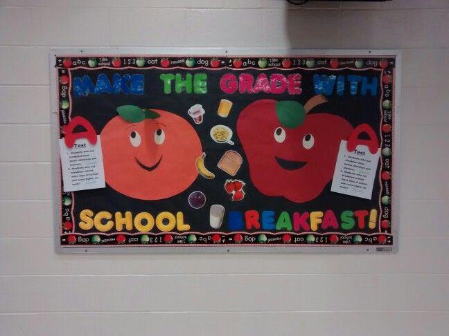 Classroom Breakfast Ideas : Best lunchroom bulletin boards images on pinterest