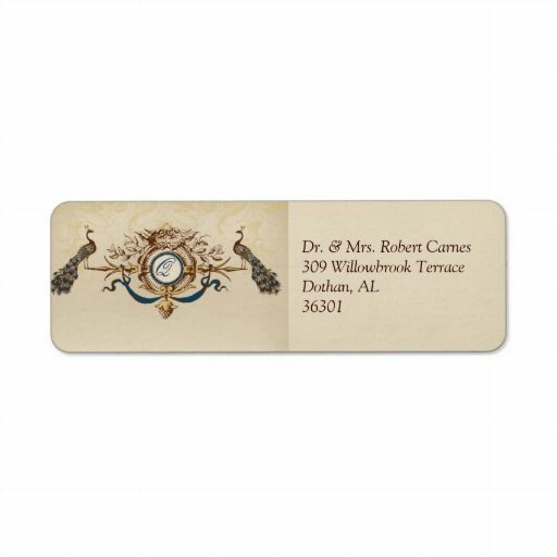 Cost Of Mailing Wedding Invitations: 20 Best Images About Wedding Invitation Return Address On