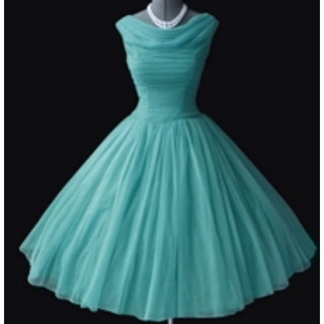 Turquoise wedding dress princessey and classic for Turquoise and white wedding dresses