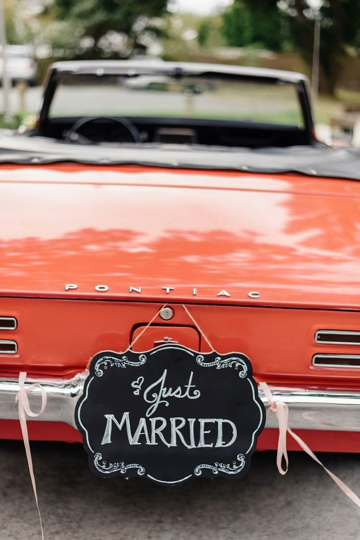 Vintage convertible wedding car sublimeliving a vintage wedding on a dime well at