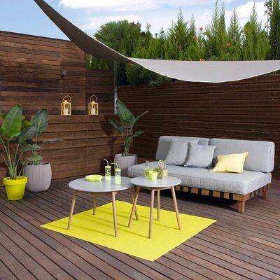Mueble de exterior de madera de eucalipto Denver. Ideas Para Decorar Jardines, Porch And Terrace, Denver, Outdoor Furniture Sets, Outdoor Decor, Renzo Piano, Outdoor Living, Sweet Home, Gardens